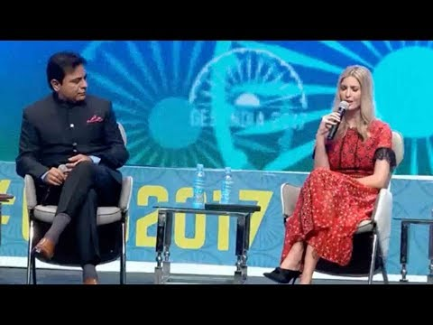 FULL VIDEO : KTR Debate With Ivanka Trump..Global Entrepreneurship Summit in Hyderabad, India