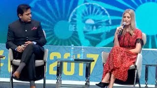 FULL VIDEO : KTR Debate With Ivanka Trump..Global Entrepreneurship Summit in Hyderabad, India thumbnail
