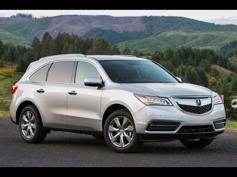 2016 Acura Mdx Start Up And Review 3 5 L V6