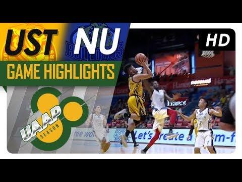 NU vs UST Game Highlights | UAAP 80 Men's Basketball | October 22, 2017