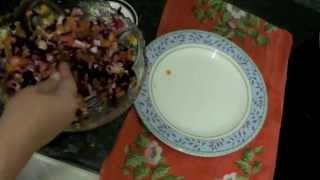 100 рецептов для Маринки. Рецепт 6: Забытый русский салат - винегрет