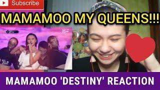Mamamoo (마마무) - Destiny [Final Queendom Performance] Reaction   CONGRATULATIONS MAMAMOO!😘😘😘