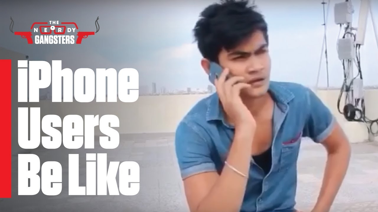 Download iPhone User Loves Phone More Than Himself - Hilarious Ending | The Nerdy Gangsters