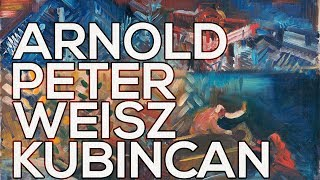 Arnold Peter Weisz-Kubincan: A collection of 107 paintings (HD)