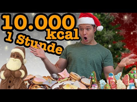 10.000 kcal in 1 Stunde | Weihnachts-Edition