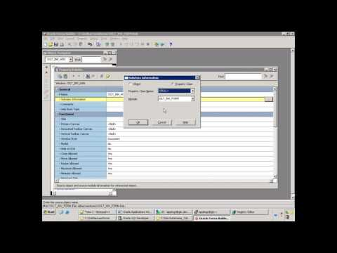 Oracle E-Business Suite - Oracle Custom Form Development