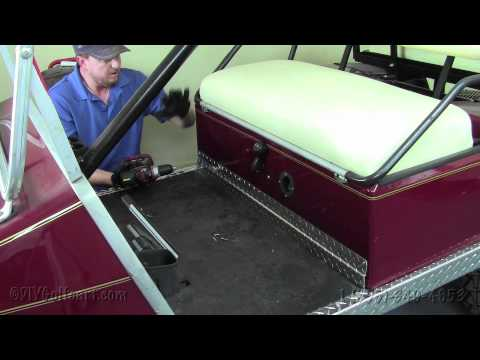 Club Car Diamond Plate Accessory Kit | How To Install Video | Golf Cart Accessories