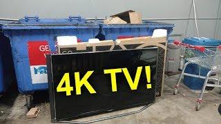 EEVBlog #1145 - Dumpster Diving 4K TV!
