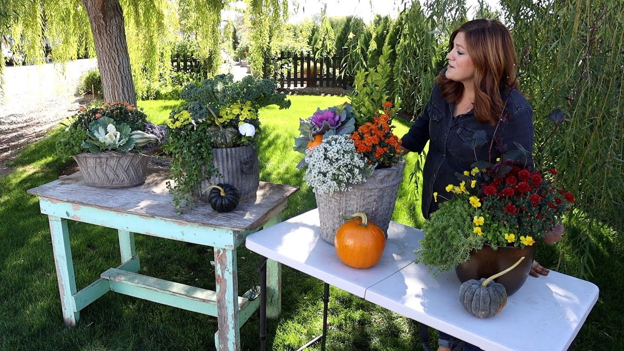 Four Fun Fall Containers Garden Answer Youtube