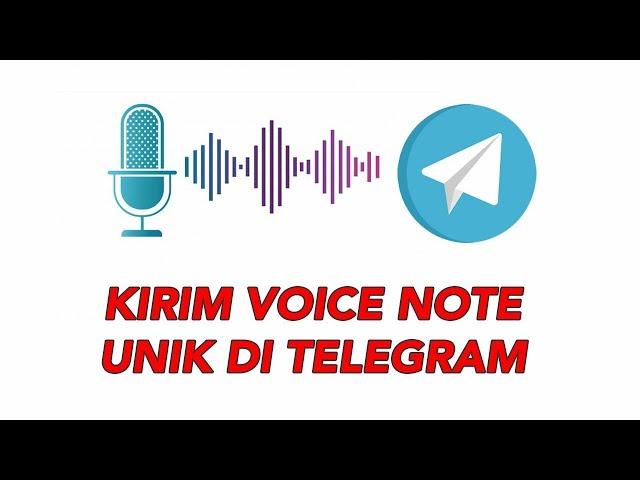 Cara Kirim Voice Note Unik di Telegram Langsung di Android