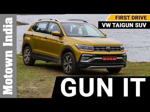 VW TAIGUN SUV | FIRST DRIVE | Motown India