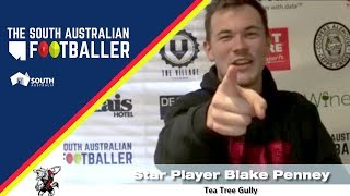 SA Adelaide Footballer 23-1: 60-Second Rapid Fire with Tea Tree Gully Star Player Blake Penney