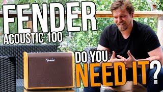 WhyBuy - Fender Acoustic 100 Amp