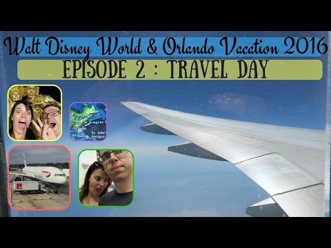 BRAND NEW WALT DISNEY WORLD & ORLANDO VACATION VLOG 2016   TRAVEL DAY & DISNEY SPRINGS   KRISPYSMORE