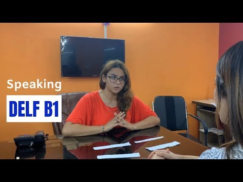 DELF B1 Production Orale Sample | French DELF B1 Speaking Topics