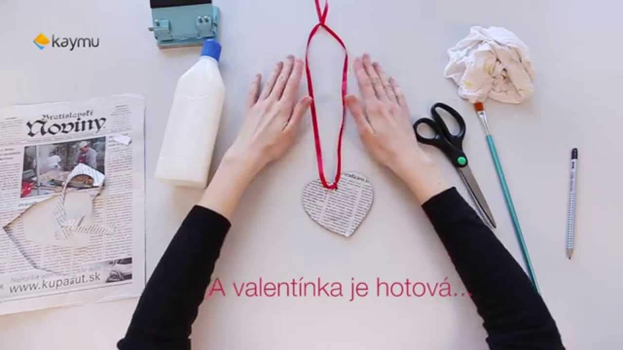 14 npadov na DIY Valentnsky darek pre vho partnera