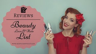 Beauty LOVE & HATE List | December 17 | REVIEW