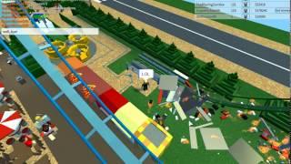 Como fazer sua montanha-russa explodir: Tycoon parque temático 2: Roblox