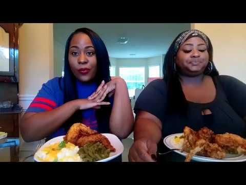 Fried Chicken Mukbang/cooking show!!!!!!