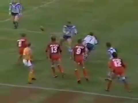 Geoff Robinson Try 1986 Bulldogs v Norths