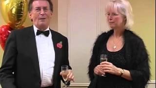 VARIETY CLUB - ED STEWART - ROBERT POWELL - CONNIE CRIGHTON