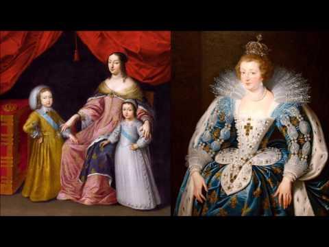 Анна Австрийская - королева Франции, жена Людовика 13-цатого и мать Людовика 14-цатого  (Солнце).
