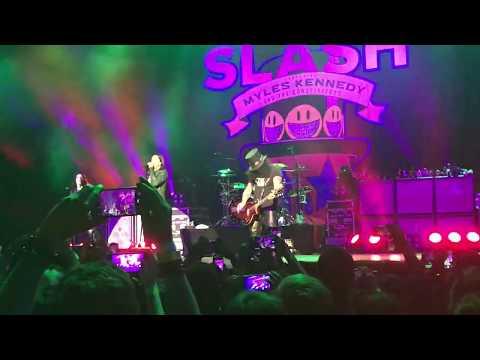 Slash – Apocalyptic Love – São Paulo 25/05/2019 Espaço das Américas live