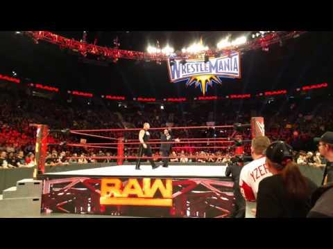 Brock Lesnar v Big Show dark match Raw Portland