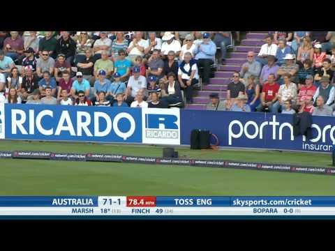 1st NatWest International T20 -- Australia innings