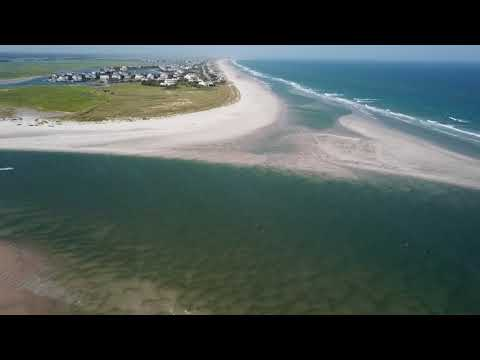 Mason's Inlet At Low Tide | Wrightsville Beach | Wilmington, NC