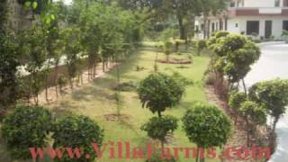 Chattarpur farmhouses for rent VillaFarms.com Delhi India sale buy