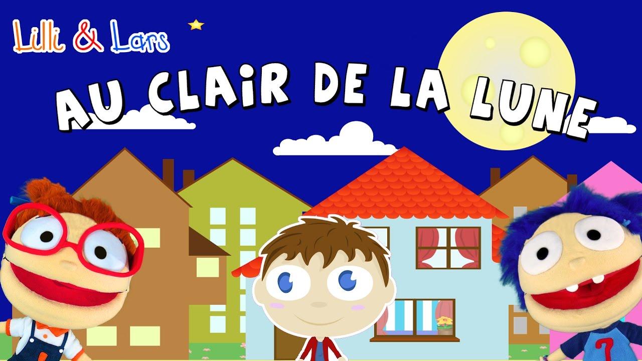 Au Clair De La Lune Comptine Bébé Pour Dormir Francais Chanson