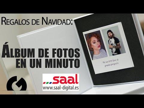 Album en un minuto - Regalos personalizados con Saal Digital | Antonio Garci