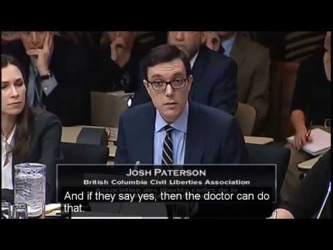 Euthanasia & assisted suicide hearings: British Columbia Civil Liberties Association