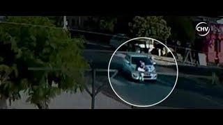 Padre salvó a su hijo de dos años que fuera atropellado por vehículo - CHV Noticias