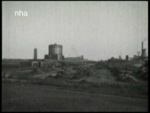 Bezoek aan de Hoogovens (ca. 1931)