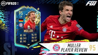 TOTSSF MULLER REVIEW (95) SO WORTH THE COINS! FIFA 20 Thomas Muller Review
