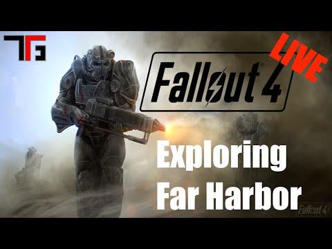 Fallout 4 | Exploring Far Harbor [Daily Streamer]