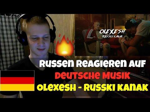 RUSSIANS REACT TO GERMAN RAP   Olexesh - RUSSKI KANAK   REACTION TO GERMAN RAP