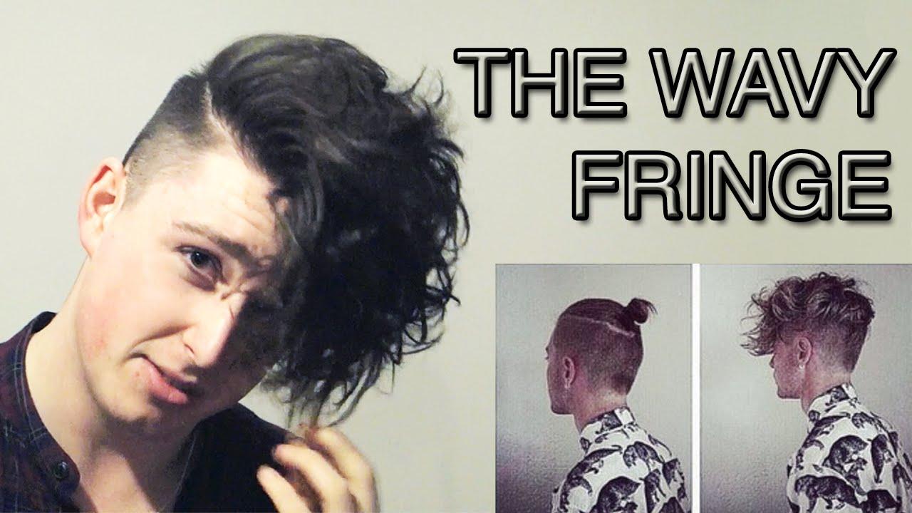 Wavy And Voluminous Fringe Men S Hairstyling Tutorial