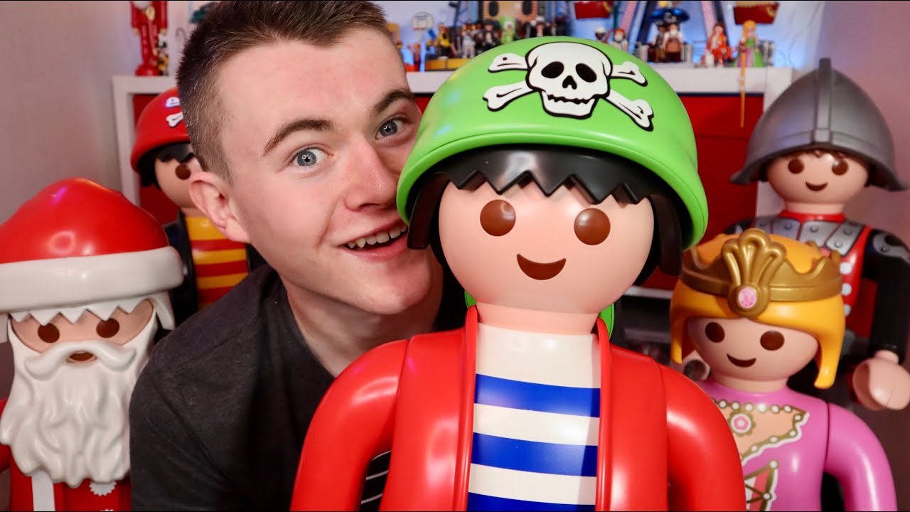 ma COLLECTION playmobil XXL (unboxing playmobil pirate)