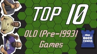 Top 10 Old Games (1993 and earlier)