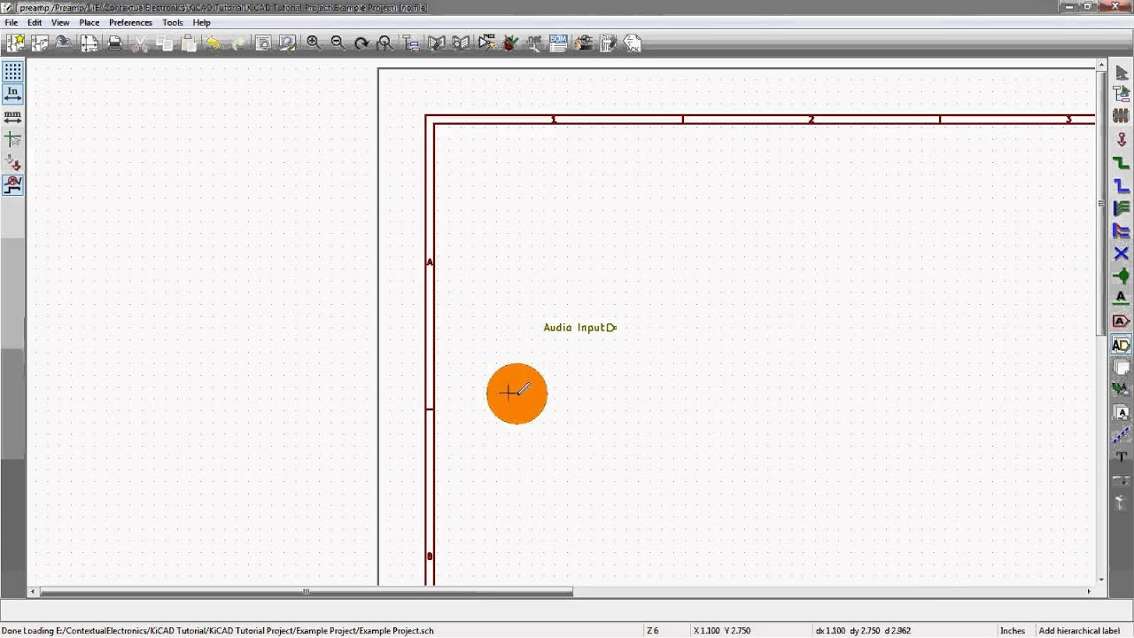 KiCad 3 0 - Schematic Pages and Heirarchy In KiCad