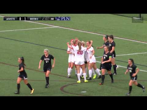 Highlights: Women's Soccer Vs. Lafayette 9/29/2018