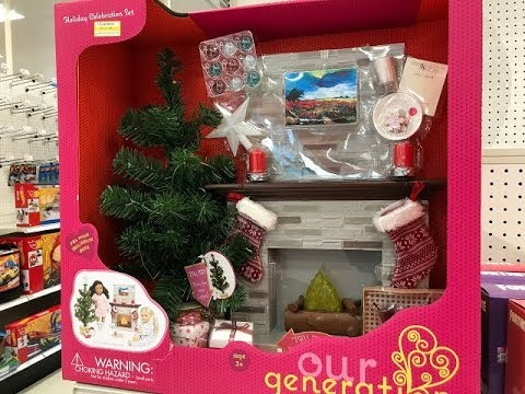 Target Toy Clearance Our Generation Girl Holiday Celebration Set Youtube