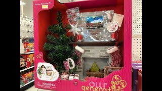 Target Toy Clearance: Our Generation Girl Holiday Celebration Set!!!