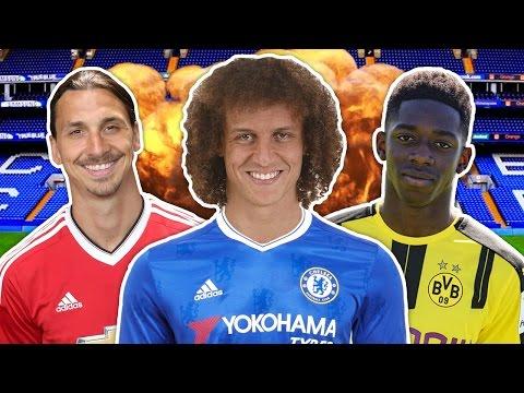 David Luiz Set For Sensational £40M Deadline Day Return To Chelsea | W&L