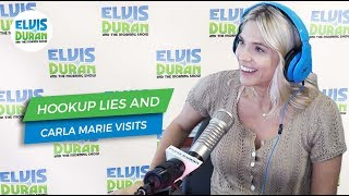 Carla Marie Visits and Hookup Lies | Elvis Duran Exclusive
