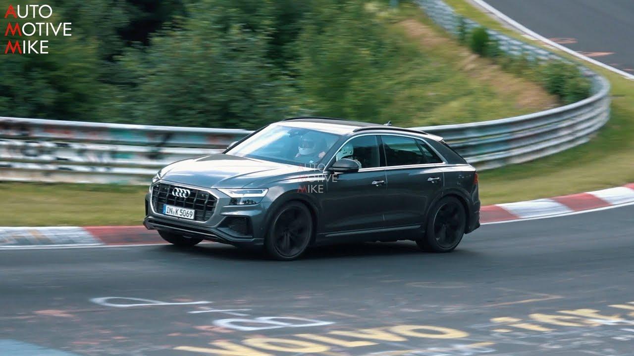 2019 Audi Sq8 Spied Testing At The Nurburgring