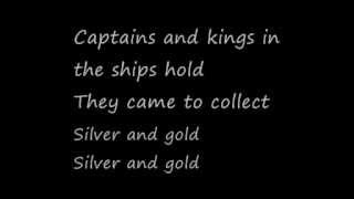 U2-Silver and Gold [Live] (Lyrics)